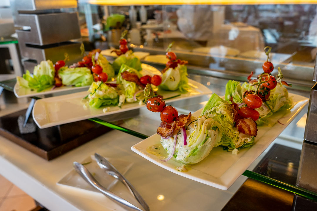California Grill Brunch - Salad Wedge