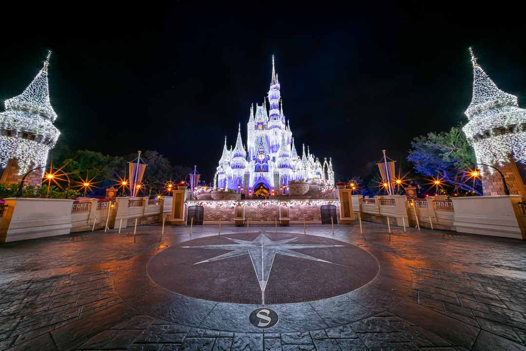 Cinderella Castle Dreamlights Forecourt
