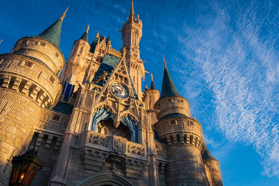 Cinderella Castle Golden Hour