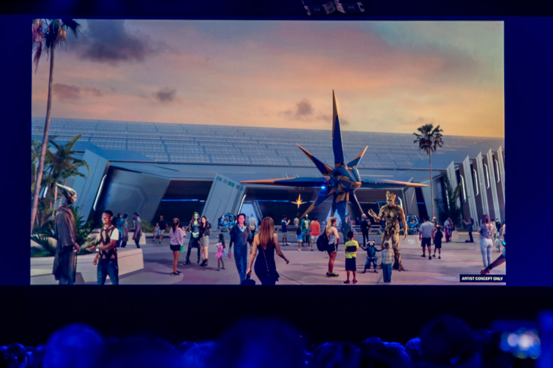 D23 Expo - Guardians of the Galaxy