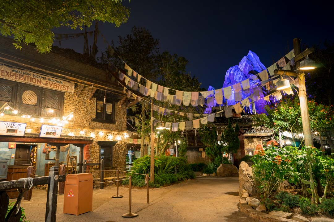 Expedition Everest - Night