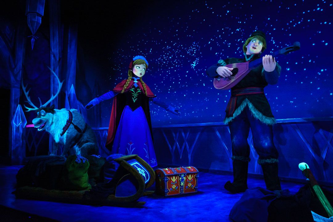 Frozen Ever After - Anna and Kristoff