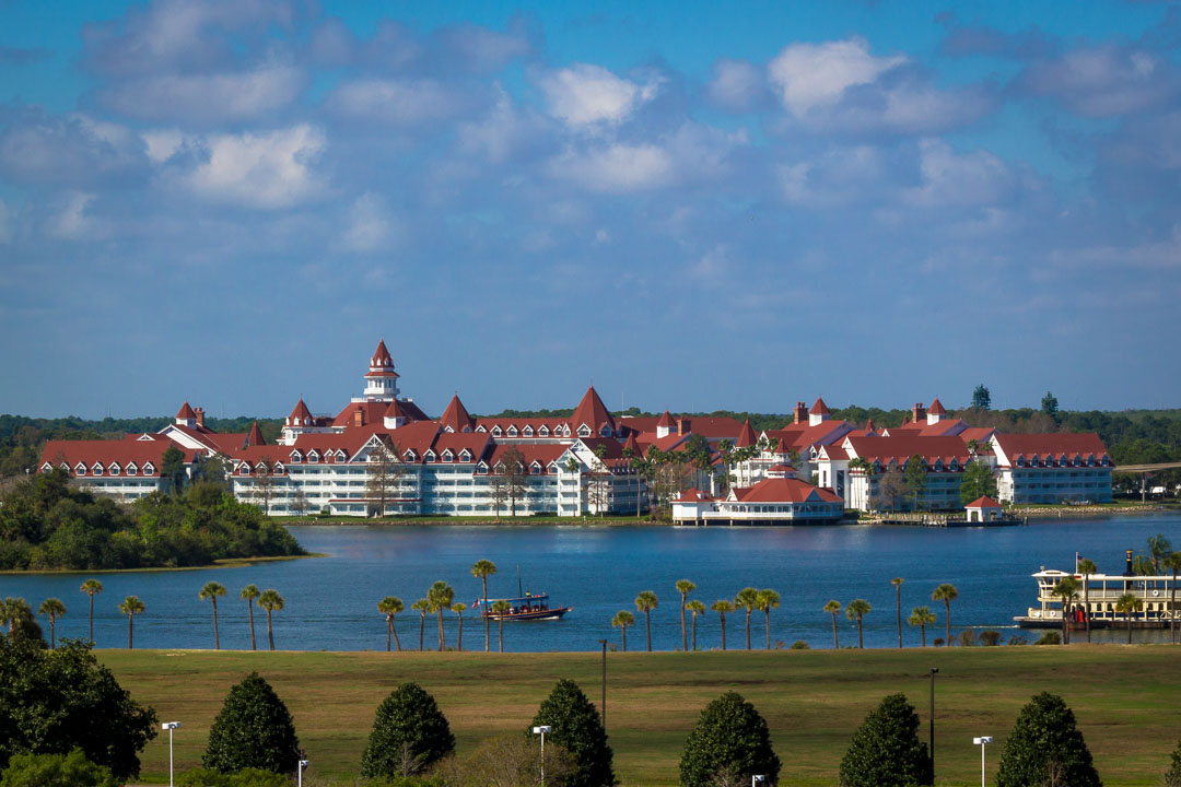 Grand Floridian from Monorail