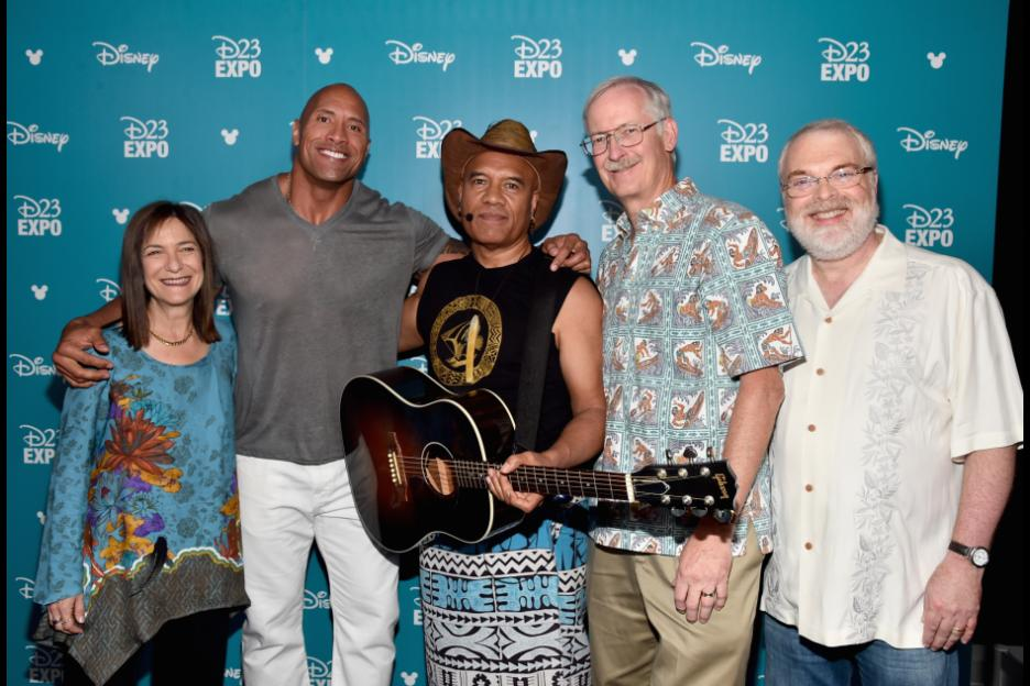 Moana Directors and Cast