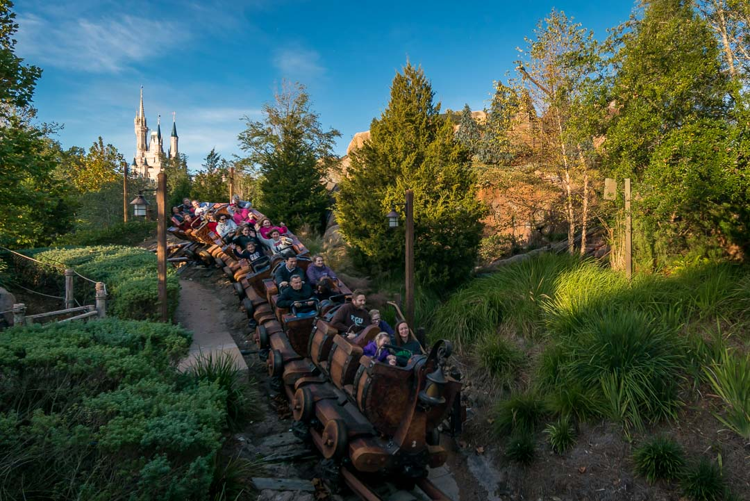 Seven Dwarfs Mine Train - Train