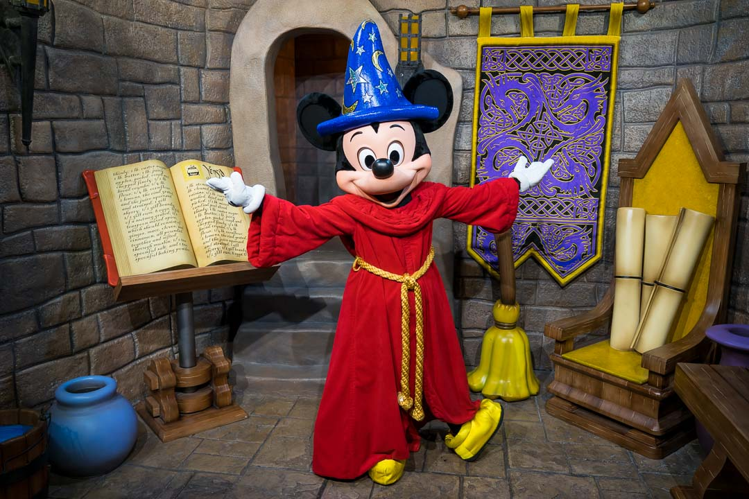 Sorcerer Mickey Meet and Greet
