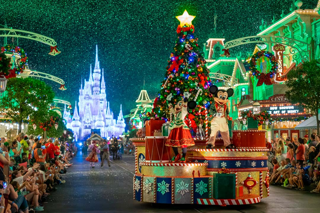Once Upon a Christmastime Parade - Mickey and Minnie